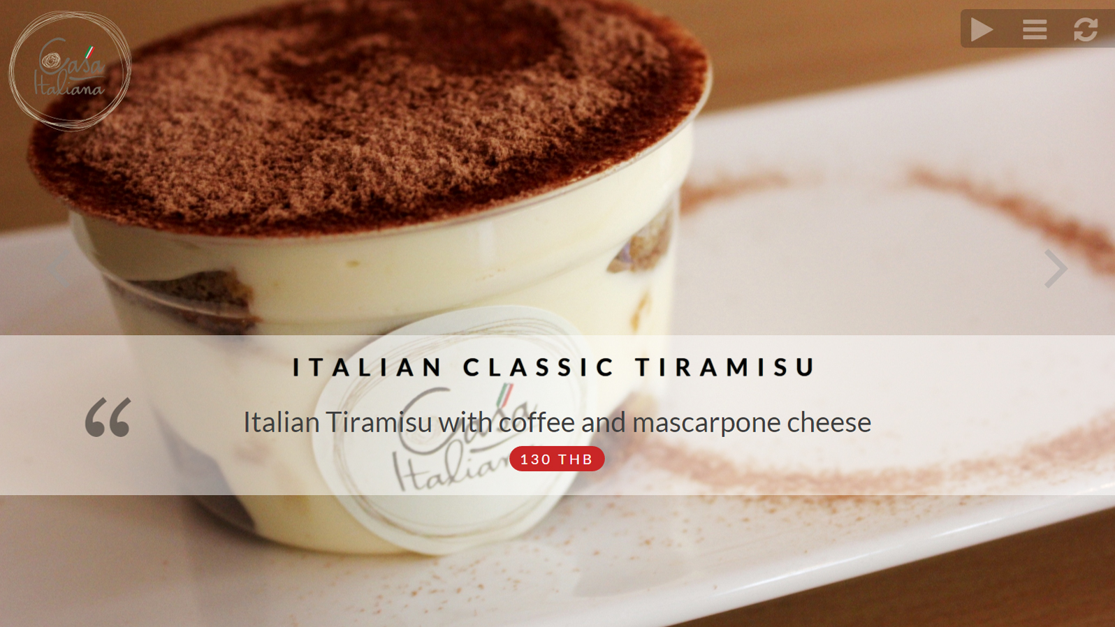 Private Cookers | Disieasy Tiramisu Slide